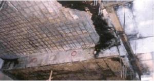 คอนกรีตถูกไฟไหม้ ใช้ LANKO 731 LANKO 732